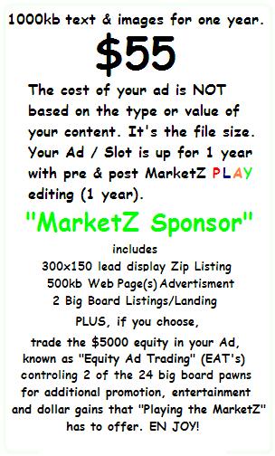 $55 MarketZ Sponsor